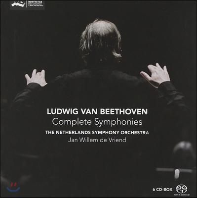 Jan Willem de Vriend 베토벤: 교향곡 1-9번 전곡집 - 얀 빌렘 데 브렌트, 네덜란드 심포니 (Beethoven: The Complete Symphonies)