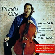 Yo-Yo Ma 비발디: 첼로 협주곡 - 요요 마, 암스테르담 바로크 오케스트라, 톤 쿠프만 (Vivaldi's Cello: Concertos)