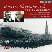 Dmitrij Kitajenko 쇼스타코비치: 교향곡 전곡집 (Shostakovich: Symphonies Nos. 1-15)