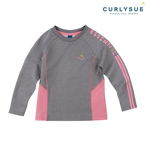 [컬리수] 가이루빠장식 쿠션지 티셔츠 CLF1XATS45GR [가을]
