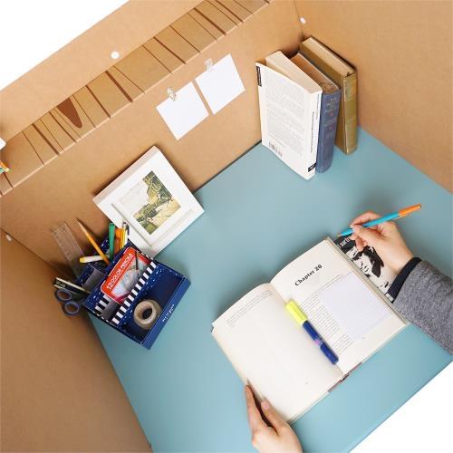 공부집중 책상 칸막이  (상단서랍형)