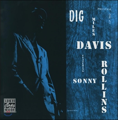 Miles Davis featuring Sonny Rollins (마일스 데이비스, 소니 롤린스) - Dig [LP]