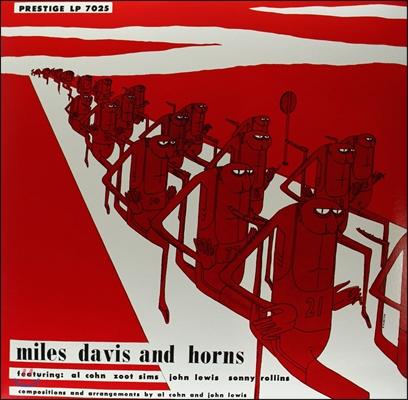 Miles Davis (마일스 데이비스) - Miles Davis And Horns [LP]