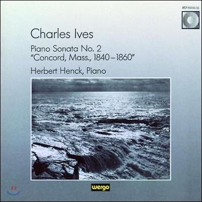 Herbert Henck 찰스 아이브스: 피아노 소나타 2번 '매사추세츠 주 콩코드 1840-1860' (Charles Ives: Piano Sonata No.2 'Concord, Mass., 1840-1860')