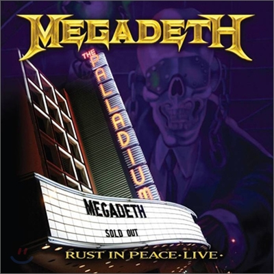 Megadeth - Rust In Peace: Live