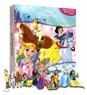 Disney Princess Great Adventures My Busy Book 디즈니 프린세스 그레이트 어드벤처 비지북