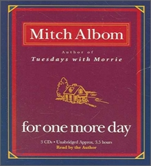 For One More Day : Audio CD