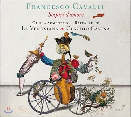 La Venexiana 프란체스코 카발리: 탄식과 사랑 - 오페라 이중창과 아리아 (Francesco Cavalli: Sospiri d'Amore - Opera Duets & Arias) 클라우디오 카비나, 라 베네시아나