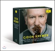 Gidon Kremer 기돈 크레머 도이치 그라모폰, 필립스 협주곡 녹음 전집 박스세트 (Complete Concerto Recordings on Deutsche Grammophon, Philips)