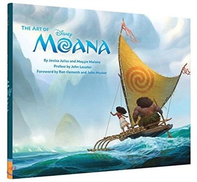 The Art of Moana 디즈니 모아나 공식 컨셉 아트북