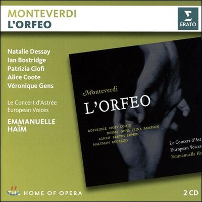 Emmanuelle Haim / Natalie Dessay / Ian Bostridge 몬테베르디: 오르페오 (Monteverdi: Orfeo) 엠마누엘 아임, 나탈리 드세, 이안 보스트리지