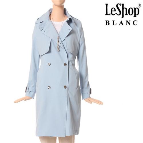 [Leshop BLANC] 크리미 트렌치 코트 SB (LG3BYB01)
