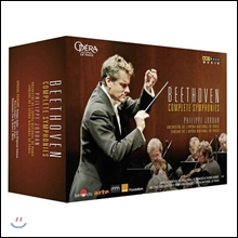 Philippe Jordan 베토벤: 교향곡 전집 (Beethoven: Complete Symphonies Nos.1-9) 필립 조르당 [4DVD]
