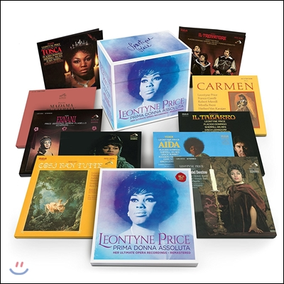 Leontyne Price 레온타인 프라이스 얼티메이트 오페라 레코딩스 - 프리마 돈나 아솔루타 (Her Ultimate Opera Recordings - Prima Donna Assoluta) [Remastered]