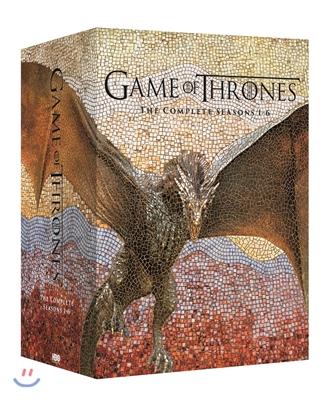 왕좌의 게임 시즌1-6 박스 (27Disc 일반판) : 블루레이