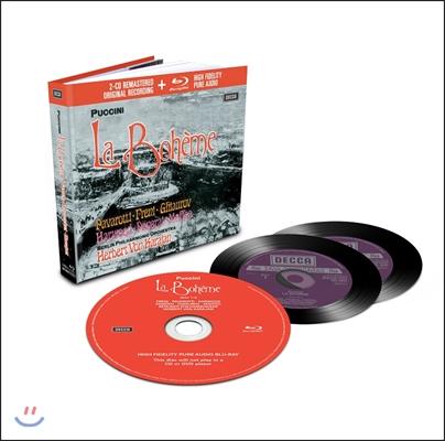 Herbert von Karajan / Luciano Pavarotti 푸치니: 라보엠 (Puccini: La Boheme) 루치아노 파바로티, 미렐라 프레니, 헤르베르트 폰 카라얀