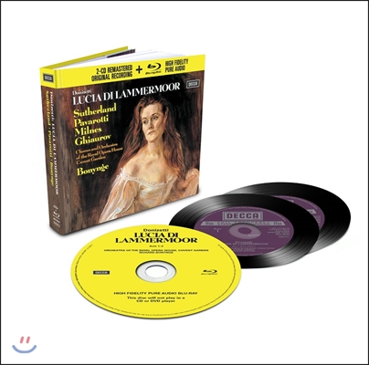 Joan Sutherland / Richard Bonynge 도니제티: 람메르무어의 루치아 (Donizetti: Lucia di Lammermoor) 조안 서덜랜드, 리차드 보닝