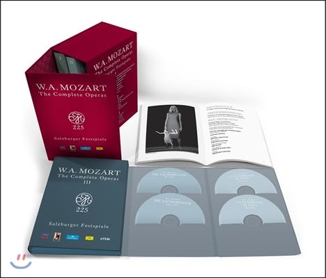 모차르트: 오페라 전집 - 2006년 잘츠부르크 페스티벌 실황 33DVD 박스세트 (Mozart 225 - The Complete Operas: Salzburger Festspiele)