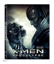 엑스맨 : 아포칼립스 (3D & 2D 합본 풀슬립케이스 스틸북 한정판) : 블루레이