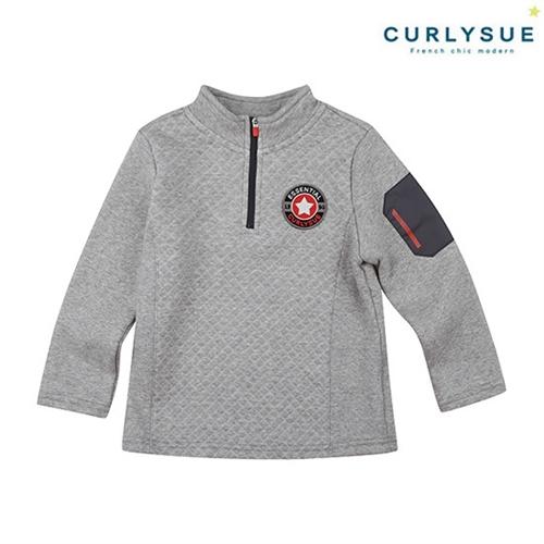 [컬리수] 다이아 누비지반목티셔츠(털안감) CLW1GQTS87GR [겨울]