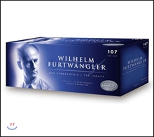 Wilhelm Furtwangler 푸르트뱅글러의 유산 (The Legacy) [107CD + 44P 부클릿 + CD-ROM + DVD]