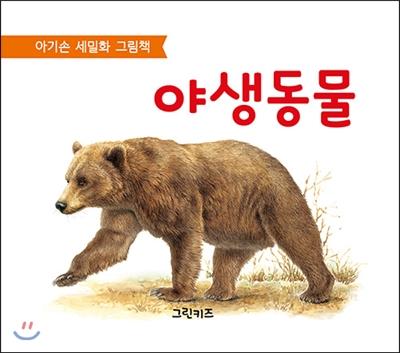 아기손 세밀화 그림책 : 야생 동물