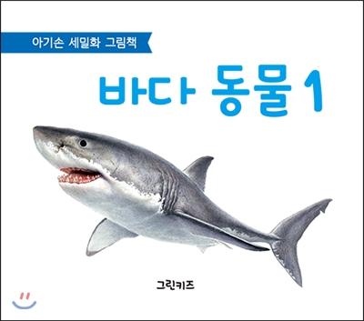 아기손 세밀화 그림책 : 바다 동물 1