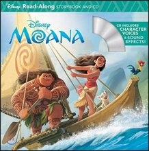 Moana Read-Along Storybook and CD
