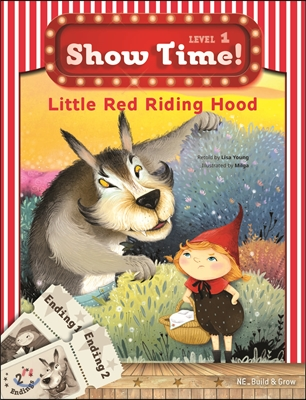 Show Time Level 1 : Little Red Riding Hood (스토리북 + 멀티롬)