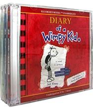 Diary of a Wimpy Kid #1-3 (Audio CD)