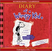 Diary of a Wimpy Kid #1 : A Nobel in Cartoons (Audio CD)