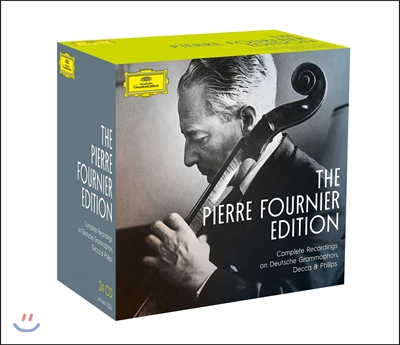 피에르 푸르니에 에디션 박스세트 (The Pierre Fournier Edition - Complete Recordings on DG, Decca & Philips)