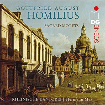 Rheinische Kantorei 고트프리트 호밀리우스: 종교 모테트 (Gottfried August Homilius: Sacred Motets) 라인 교회 합창단, 헤르만 막스