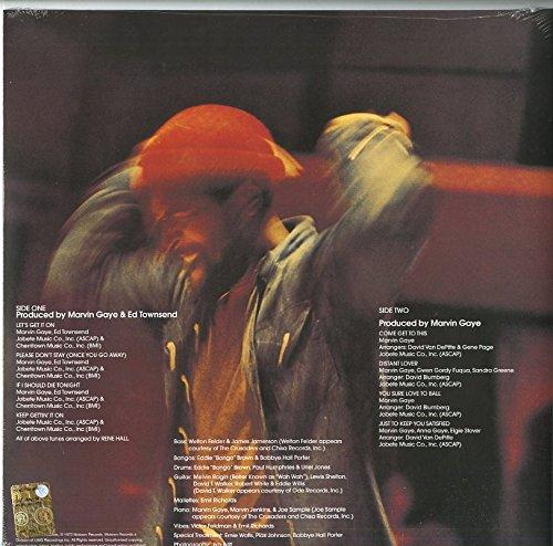 Marvin Gaye (마빈 게이) - Let's Get It On [LP]