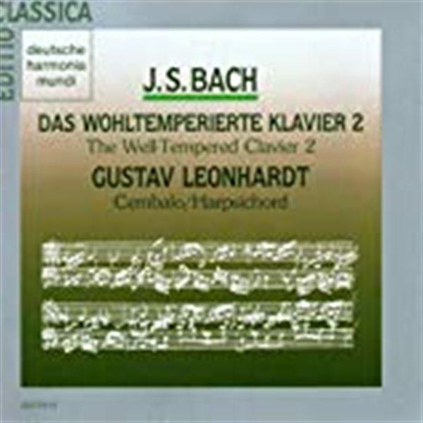 Gustav Leonhardt (구스타프 레온하르트) - J.S. Bach: Das Wohltemperierte Klavier II