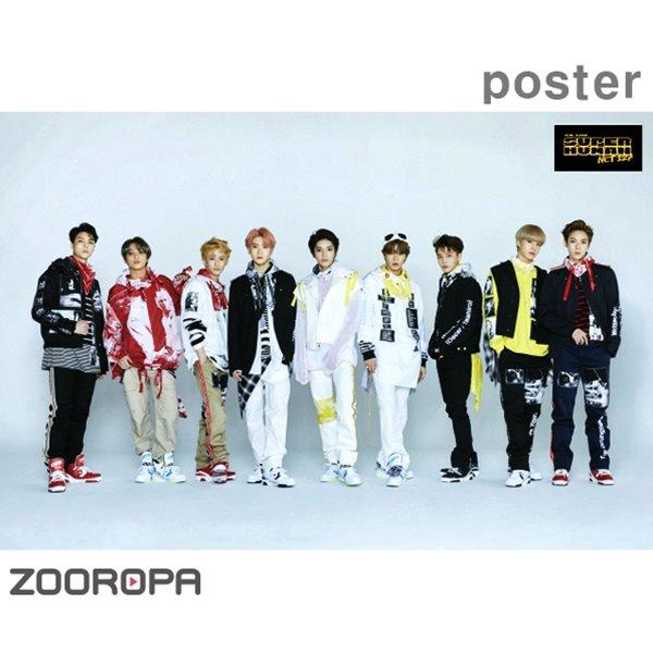 [포스터] 엔시티 127 (NCT 127) 미니앨범 4집 We Are Superhuman (브로마이드 1장+지관통)