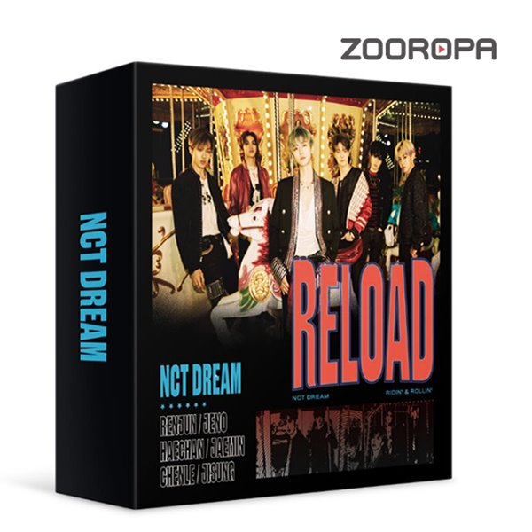 [주로파] 엔드림 NCT Dream Reload 키트앨범 Kit