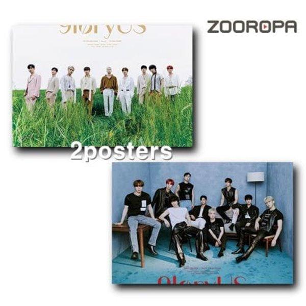[포스터2종/새상품] 에스에프나인 SF9 미니앨범 8집 9loryUS (브로마이드2장+지관통)