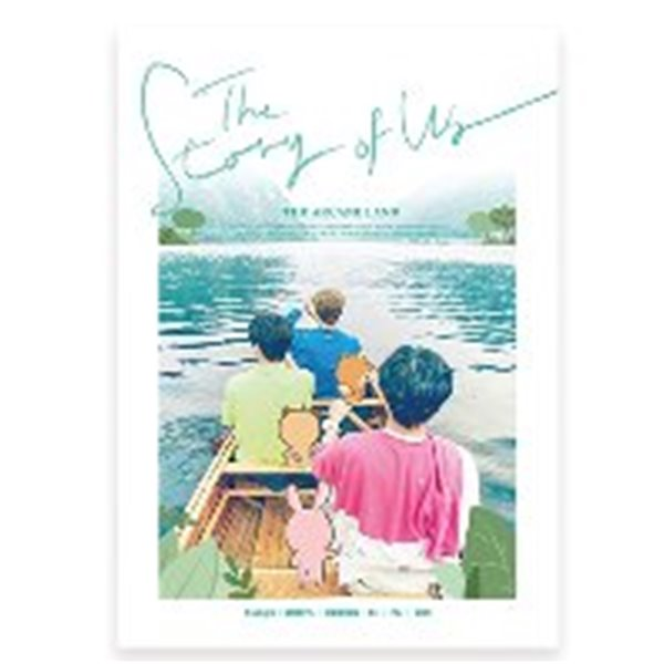 [미개봉] [스토리북] 데이식스 (DAY6) / DAY6 (Even of Day) STORY BOOK 'The Story of US: The Arcane Land' (스토리북+DVD)