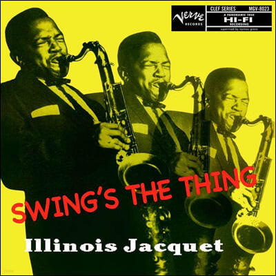 Illinois Jacquet  (일리노이 자켓) - Swing's The Thing [2LP]