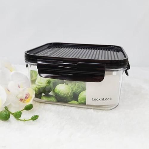 락앤락 비스프리 모듈러 밀폐용기 정사각 1L 냉장고정리 냉동실 보관 LBF452