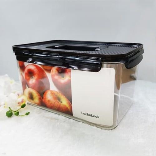 락앤락 비스프리 모듈러 밀폐용기 직사각핸디 4.8L  냉장고정리 냉동실 보관 LBF408H