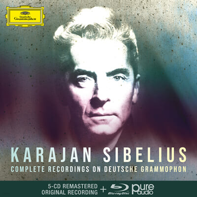 카라얀 DG 시벨리우스 녹음 전집 (Herbert von Karajan - Complete Sibelius Recordings On Deutsche Grammophon)