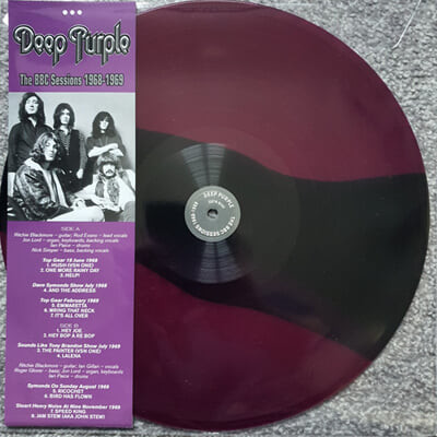 Deep Purple (딥 퍼플) - The BBC Sessions 1968 - 1969 [컬러 LP]