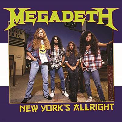 Megadeth (메가데스) - New York's Alright: Recorded Live At Webster Hall, New York, October 25th 1994 : FM Broadcast [LP]