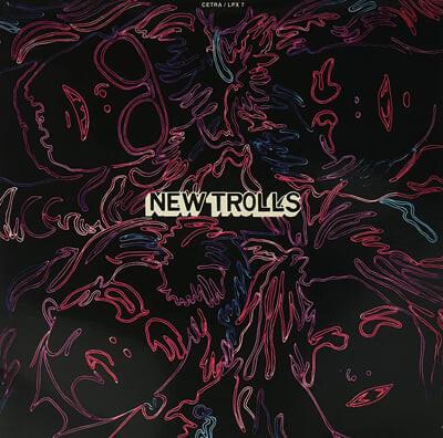New Trolls (뉴 트롤스) - New Trolls [투명 레드 컬러 LP]