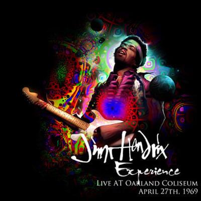 Jimi Hendrix Experience (지미헨드릭스 익스피리언스) - Live At The Oakland Coliseum, April 27th, 1969 [2LP]
