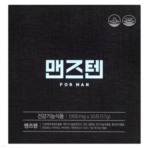 [맨즈텐]남성 건강 토탈 케어 30포(1정,1캡슐) 1박스 (1개월분)