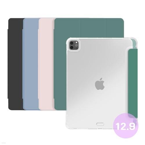 벤토사 아이패드 프로 12.9인치 2021 5세대 애플 펜슬 수납 스마트커버 케이스
