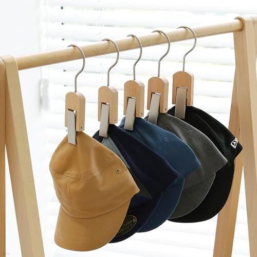 [홈앤하우스] 원목 모자걸이 5P